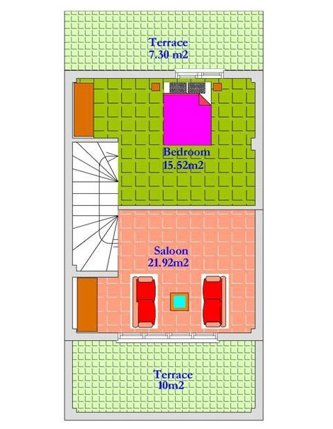 1 bedroom townhouse.  1 Bedroom Townhouse in Lapta North Cyprus with full furnishings 39 950