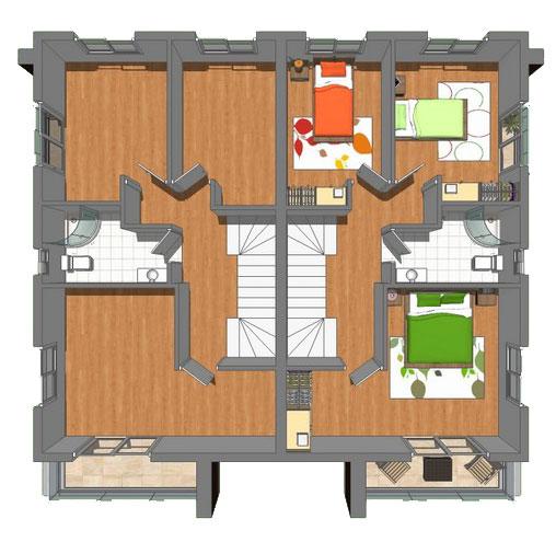 . 3 Bedroom Townhouse 3 1 Stream near Long Beach in Cyprus  129 900