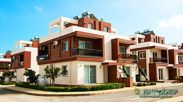 Two Bedroom Townhouse 2+1 Pearl Long Beach In North Cyprus £96,900